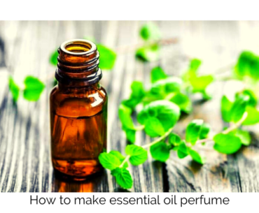 how to make essential oil perfume